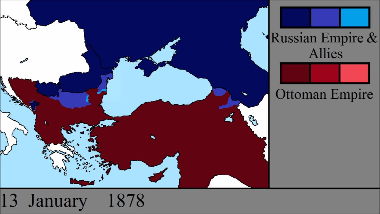 Ottoman Russian War The Russo Turkish War 1877 1878 Every Day