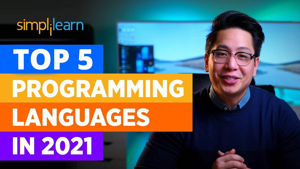 Top 5 Programming Languages In 2021| Best Programming Languages To Learn In 2021