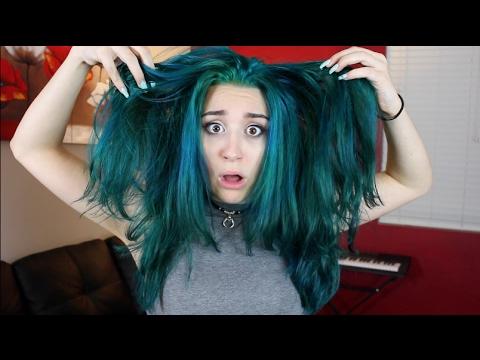 I Dyed My Hair TEAL!!