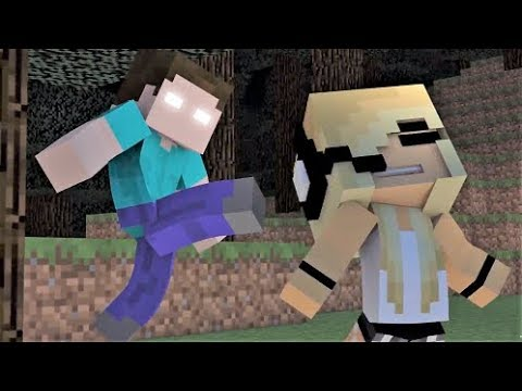 Psycho Girl 1 - 9 and Psycho Girl 10 TRAILER! Minecraft Songs and Minecraft Animation Movie 2017
