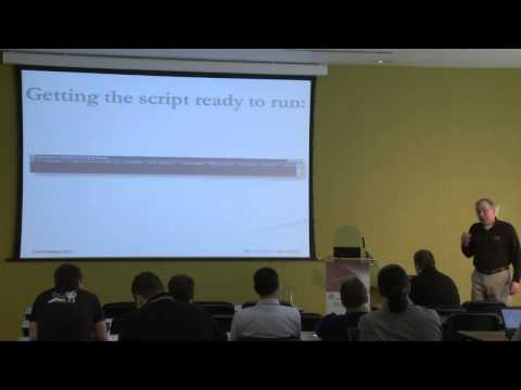 Show and Tell: Webster's Adventures into Documenting with PowerShell - BriForum 2013 London