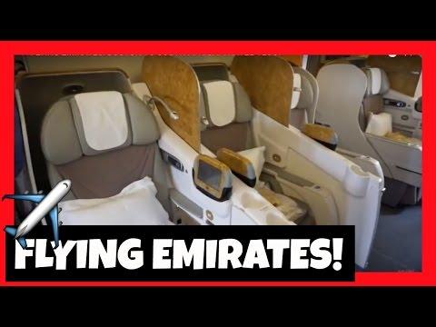 FLYING EMIRATES: BOSTON TO SOUTH AFRICA! TRAVEL VLOG!