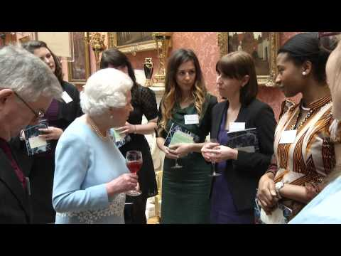 Buckingham Palace reception to celebrate Queen's Anniversary Prize
