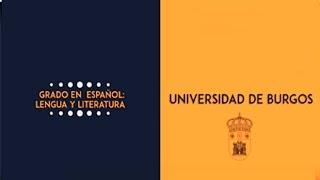 Grado en Español: Lengua y Literatura. Universidad de Burgos.