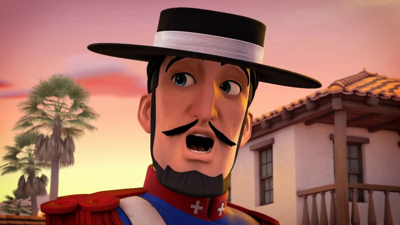 Zorro The Chronicles Episode 25 Carte Blanche Youtube