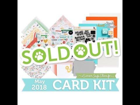 SSS May 2018 Card Kit | 10 Cards 1 Kit | Part 1