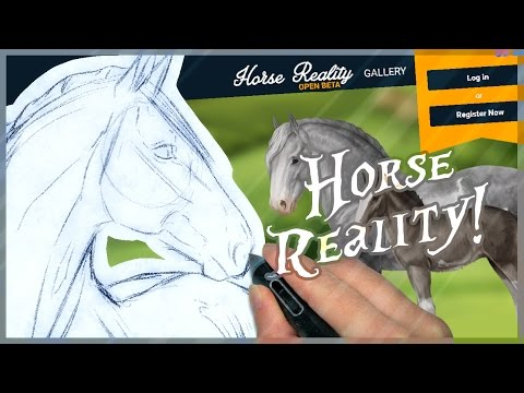 Horse Reality  The Knabstrupper  Time Lapse Drawing!