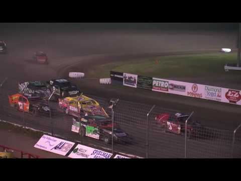 Red River Valley Speedway 06/10/2016 - IMCA Sport Mods Feature