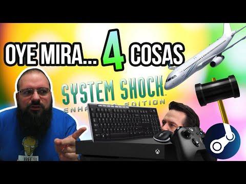 Oye mira 4 cosas - Ratón Teclado Xbox One, Steam banea developer, System Shock para, DRM to loco