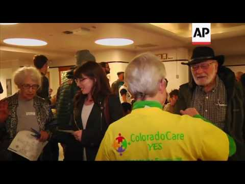 Large Democratic Turnout for Colorado's Caucuses