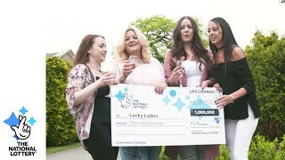 Charity workers bank £1M online in the EuroMillions UK Millionaire Maker