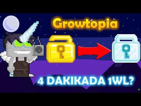Growtopia   4 dakika da 1wl?   kolay ve hızlı wl kasma