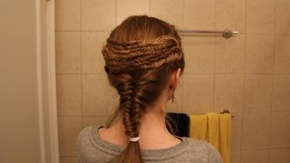 Ancient Greek Braid, Inspired by the Parthenon
