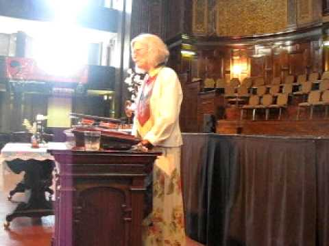 Rev. Jean Darling on Mothers Day 2011