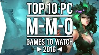 Top 10 PC ►MMO◄ Games to Watch in 2016!(MMOs are where you band together to face the world and each other as you explore fantastical environments. Well, it's time to party up and steel yourself for the ..., 2016-01-24T19:30:00.000Z)