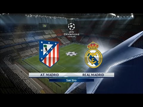 Real Madrid - Atlético Madrid [PES 2016] | UEFA C1 League 20