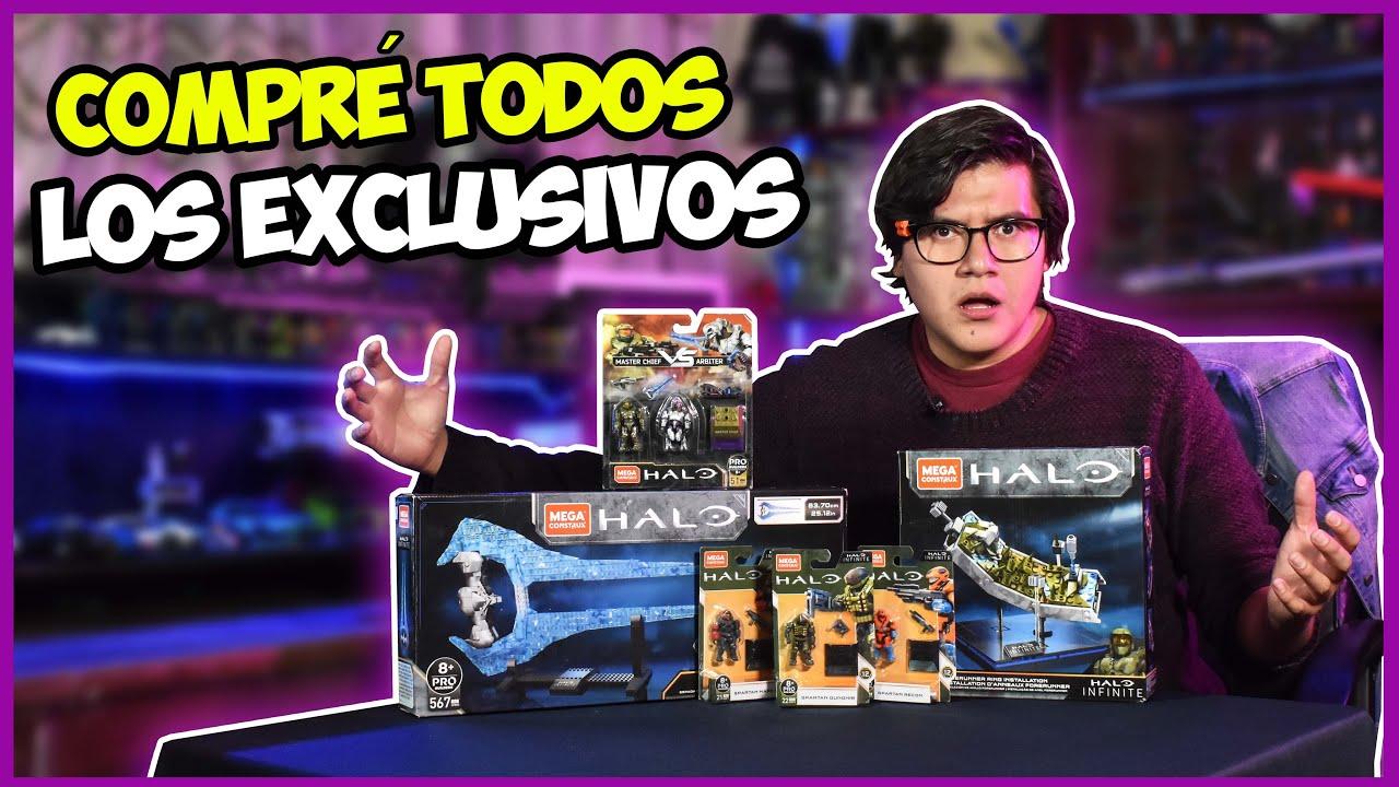 Download Compré los Sets EXCLUSIVOS de Halo Infinite Mega Construx | El tio pixel