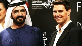 Shaikh Mohammad and Tom Cruise open DIFF 2011