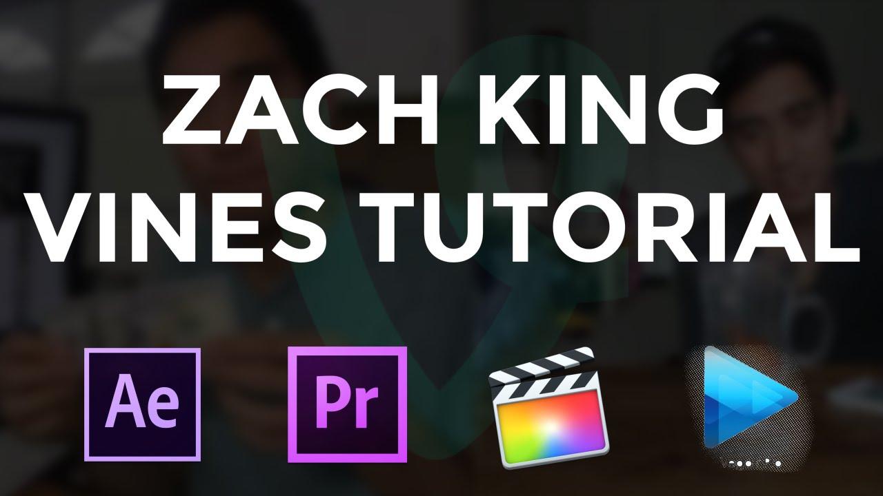 Vines Like Zach King  After Effects  Premiere Pro