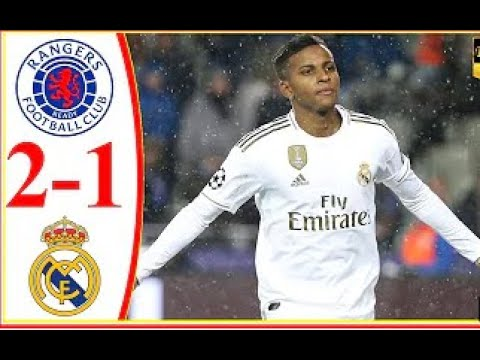 Rangers 2-1 Real Madrid commentary