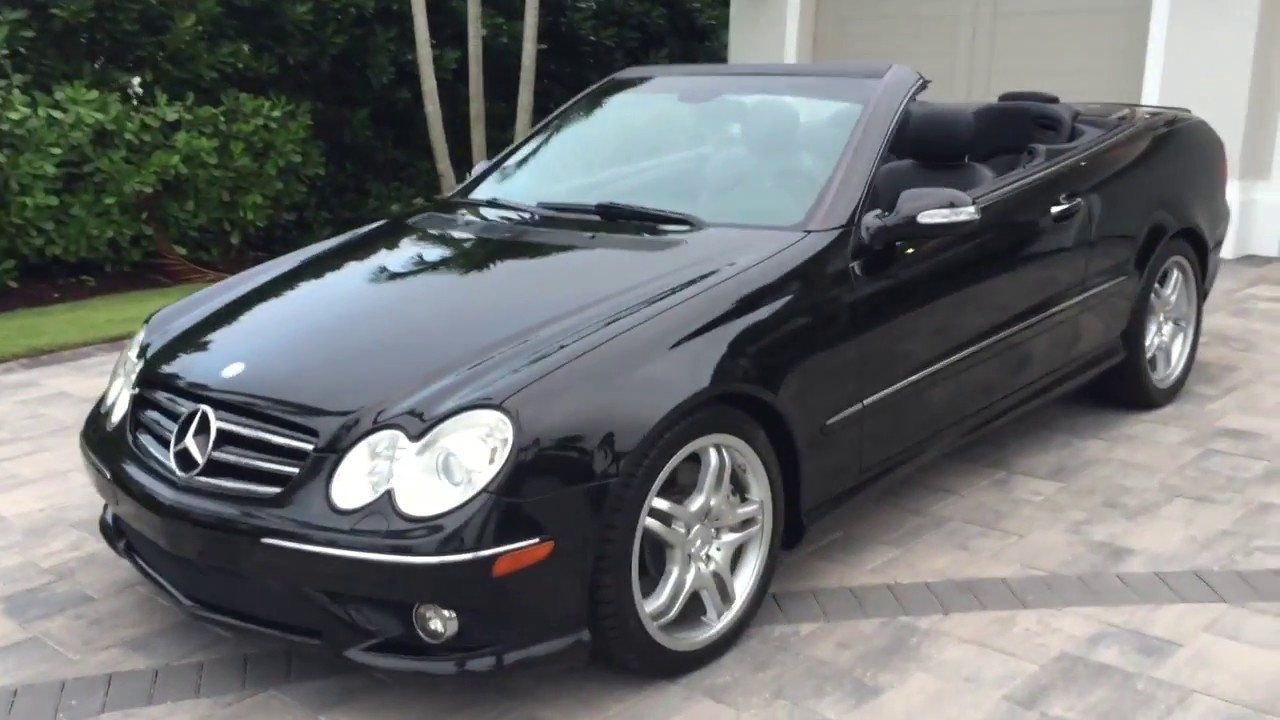 2008 Mercedes Benz Clk550 Cabrio Review And Test Drive By Bill Auto Europa Naples