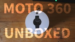 UNBOXING: Moto 360 Smart Watch (4K)(Here is a video with a little more excitement! We unbox a smart watch that will later be paired with a couple of Android phones and an iPhone! Owning in 2016 ..., 2016-05-13T18:27:07.000Z)