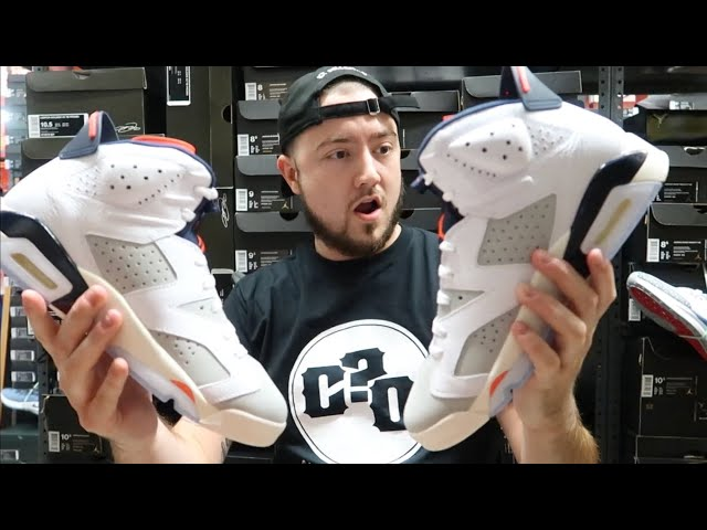 EARLY REVIEW OF THE TINKER AIR JORDAN 6S!!!!