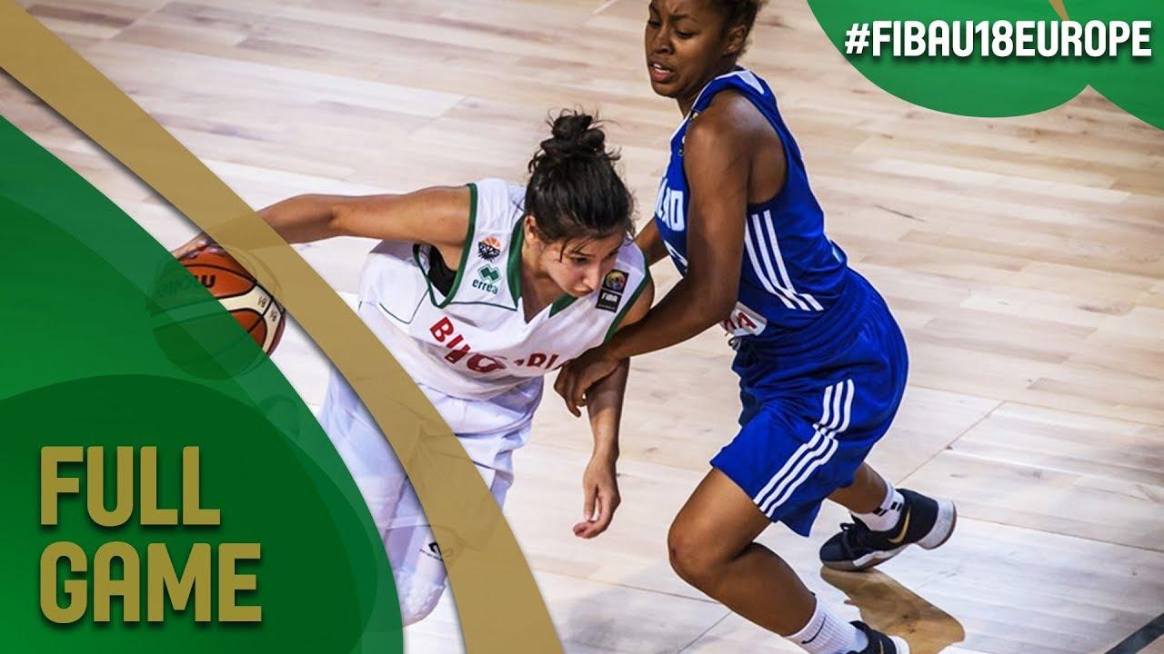 Bulgaria v Finland - Full Game - Class 9-10 - FIBA U18 Women's European Championship 2017 - DIV B