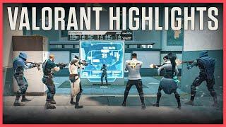 1vs6 Clutch! VALORANT Highlights #8