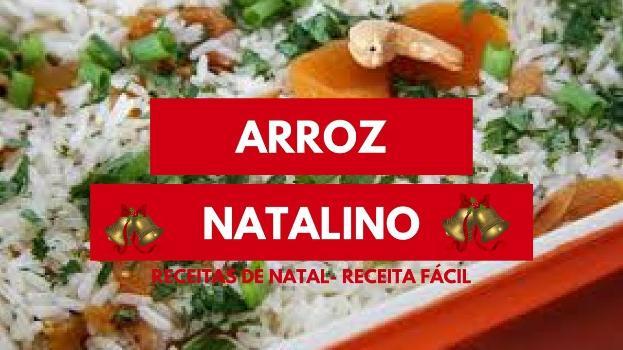 ❤️🎄ARROZ NATALINO -  (Receitas de natal)