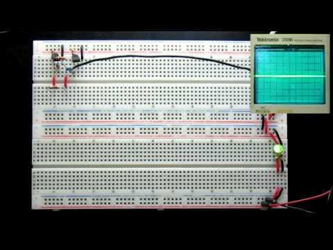 MOSFET low frequency oscillator