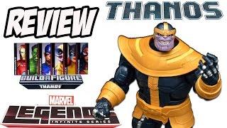 Thanos Build-a-figure Marvel Legends [Review]