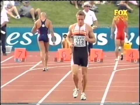 2000 GP Canberra 100m running Patrick Johnson