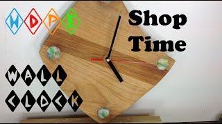 How To Make A Retro Hdpe Wall Clock