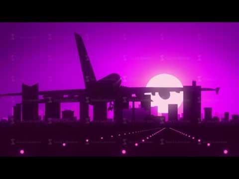 Fort Worth Texas Violet Purple USA America Skyline Sunrise Landing
