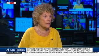 Kate Hoey on voting with the government