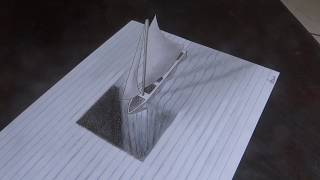 3D anamorphic illusion