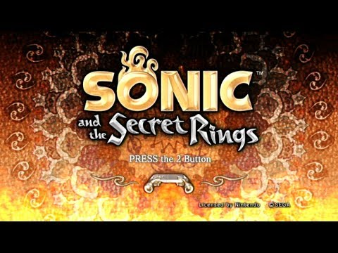 Sonic And The Secret Rings Playthrough ~Longplay~