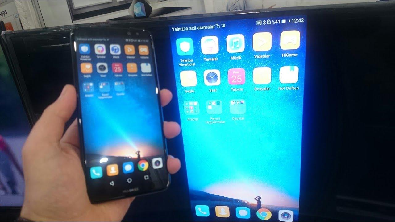 Huawe U0130 Screen M U0130rror U0130ng      Ekran Yansitma