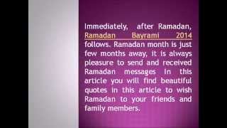 Quotes for Ramadan