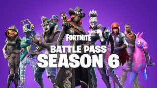 FORTNITE BATTLE PASS SEASON 6-LEAKS