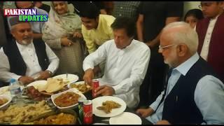 Imran Khan Eating Dinner | Imran Khan simplicity