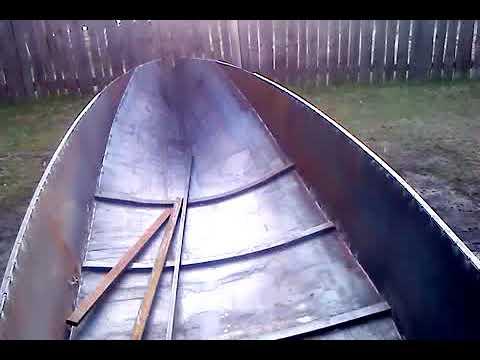 самодельная лодка из металла 1