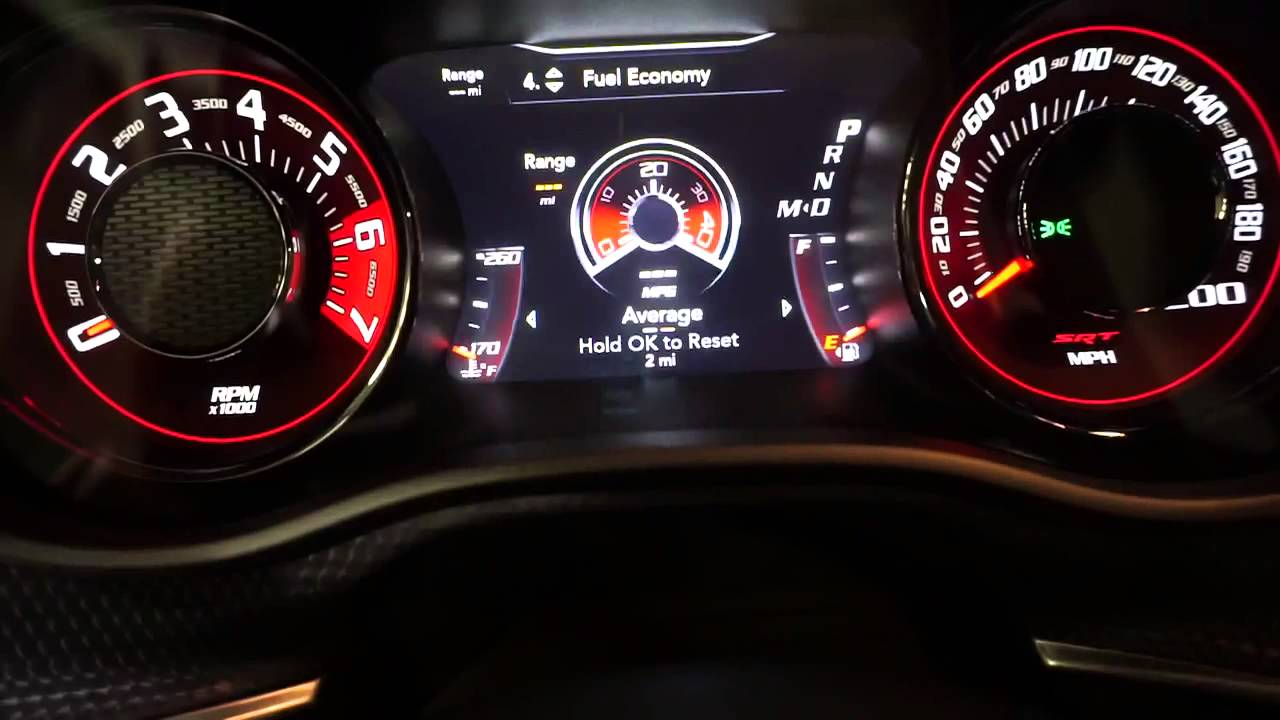 2015 Hellcat Gauges And Performance Pages Youtube