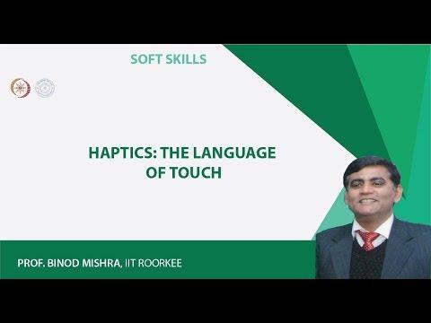Haptics: The Language of Touch