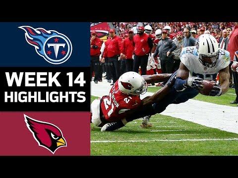 Titans vs. Cardinals   NFL Week 14 Game Highlights