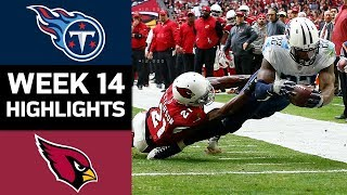 Titans vs. Cardinals | NFL Week 14 Game Highlights
