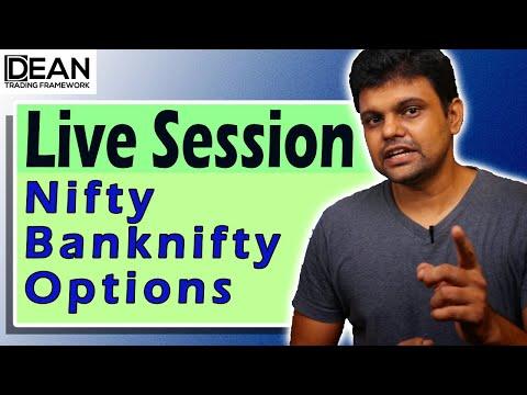 निफ़्टी फिफ्टी और बैंकनिफ्टी 4  | Nifty & Bank Nifty Live Technical Analy...