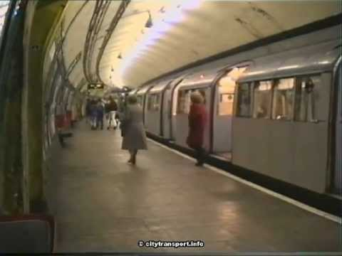South Wimbledon Northern Line Station 1990 - YouTube