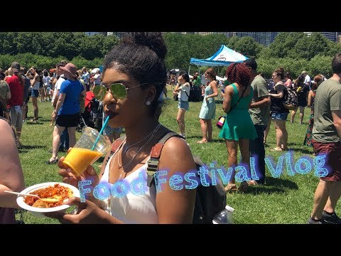 Vlog: vegan food festival Chicago|chicago food truck festival